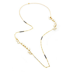 FERRARA LONG PEARL NECKLACE