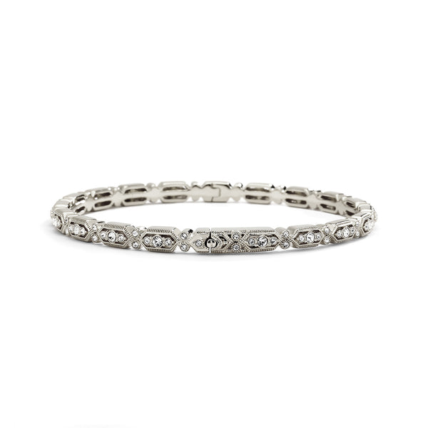 FILIGREE ALL-AROUND HINGED BRACELET
