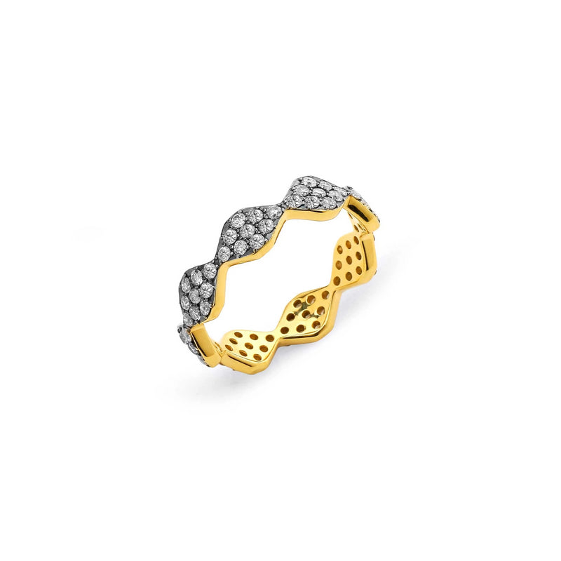 DIAMOND PAVE PATTERN RING