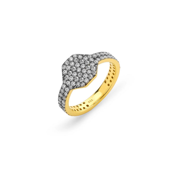 DIAMOND PAVE STATEMENT RING