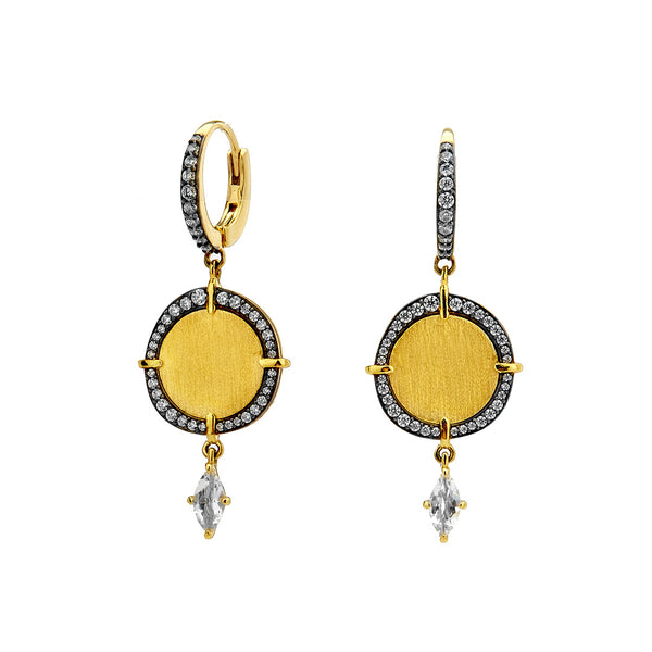 RAVENNA MEDALLION EARRINGS