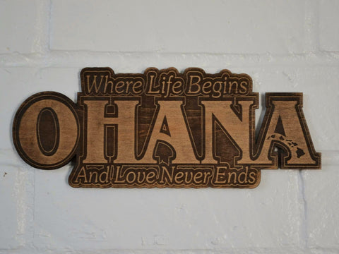 Ohana (where life begins and love never ends)