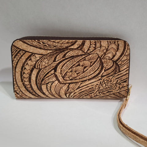 Ladies cork wallet/clutch