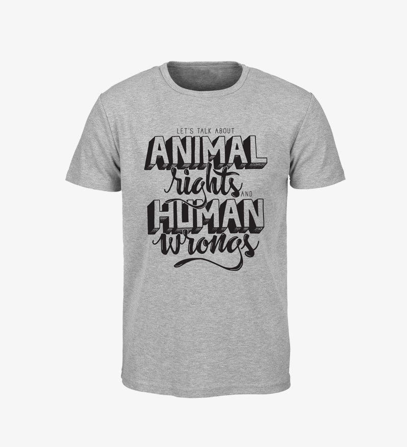 CAMISETA VEGANA OWLTREE ANIMAL RIGHTS