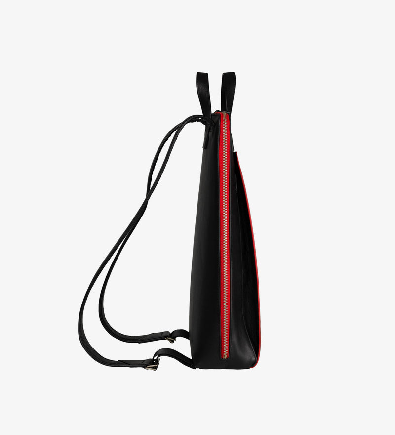 MOCHILA VEGANA CANUSSA URBAN BACKPACK BLACK
