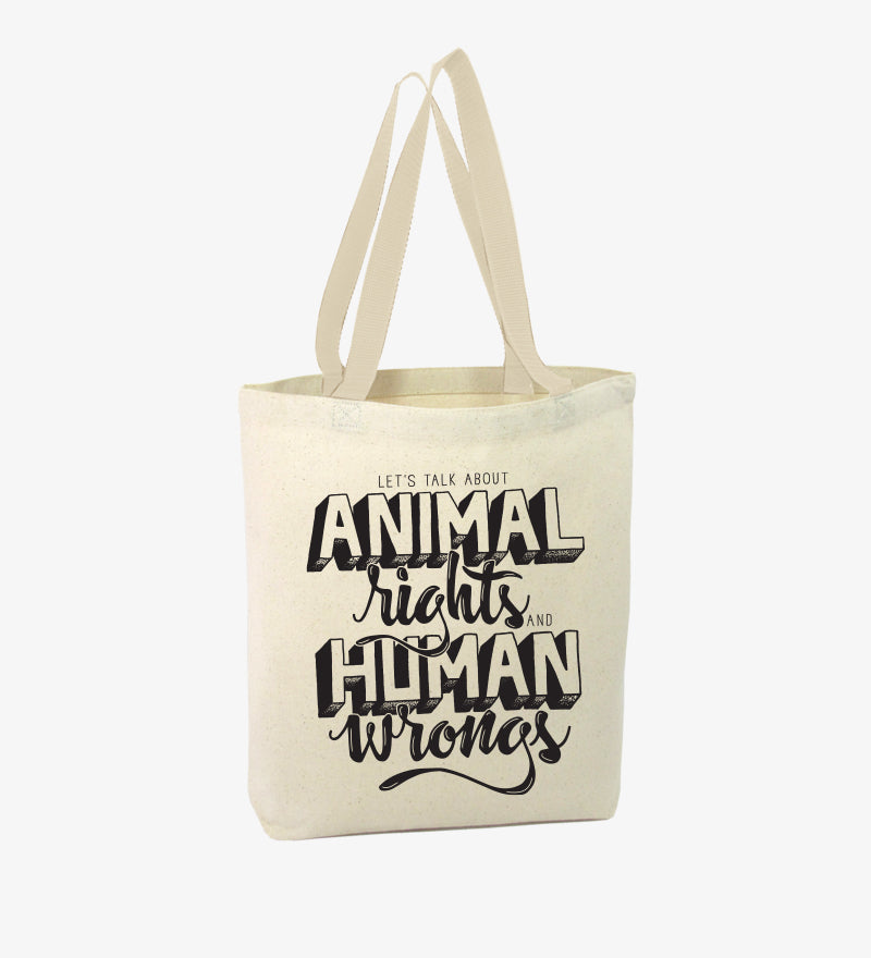 TOTE VEGANA OWLTREE ANIMAL RIGHTS