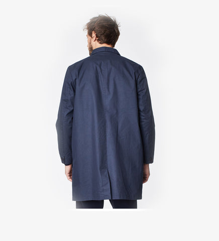 TRENCH VEGANO THOUTGHT GUIDO NAVY