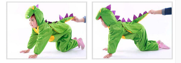 Dinosaur Razorback Party Cartoon Character Costume