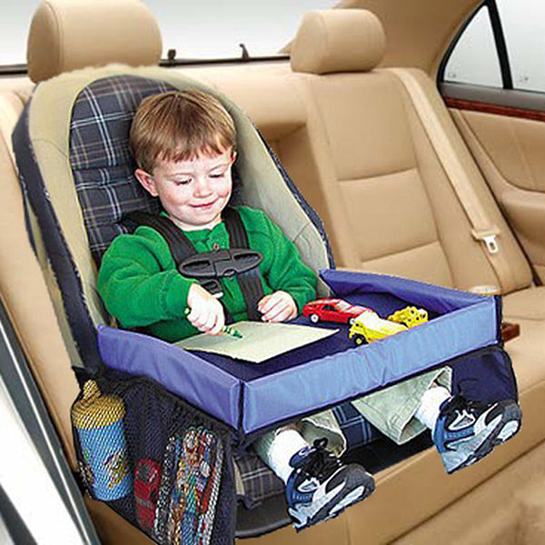 Child Car Seat Tray Storage