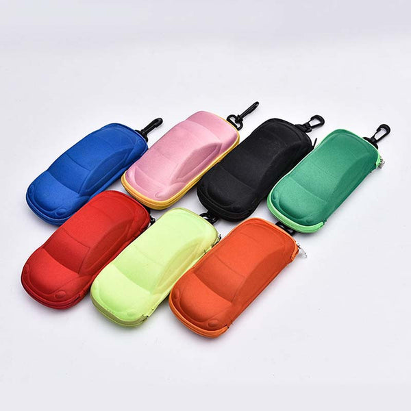 Car Shaped Sunglasses Case for Children big sunglasses with clasp originality Automobile styling glasses box suit for kid