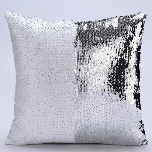 Reversible Magic Sequin Pillow Case for Home Decor or on-the-go Cushion Cover