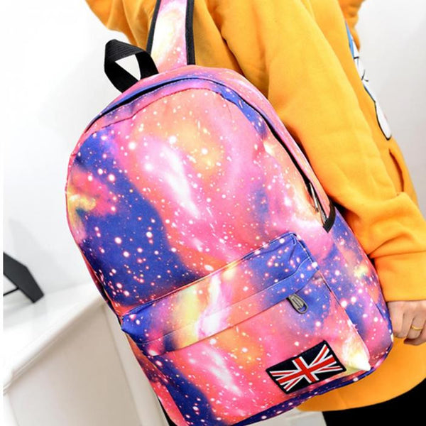 2016 NEW Fashionable Space, Stars and Universe Backpack