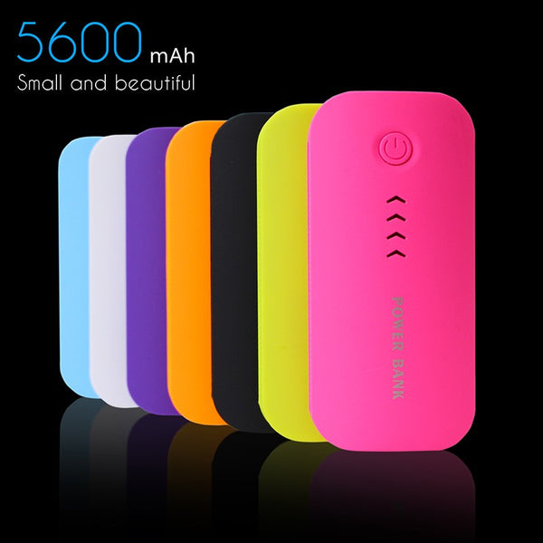 Ultra Compact Lightweight 5600mAh Power Bank For all Mobile Phones and Tablets