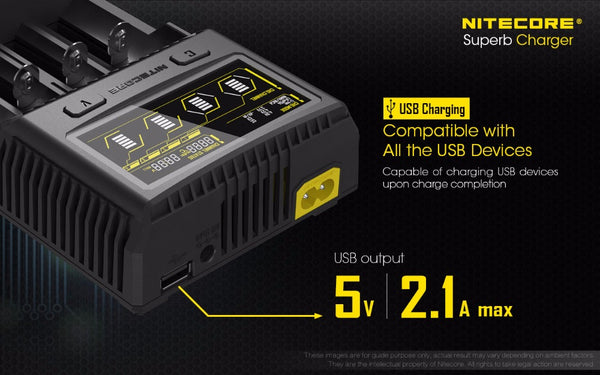 *2017* NITECORE SC4 Intelligent Charger