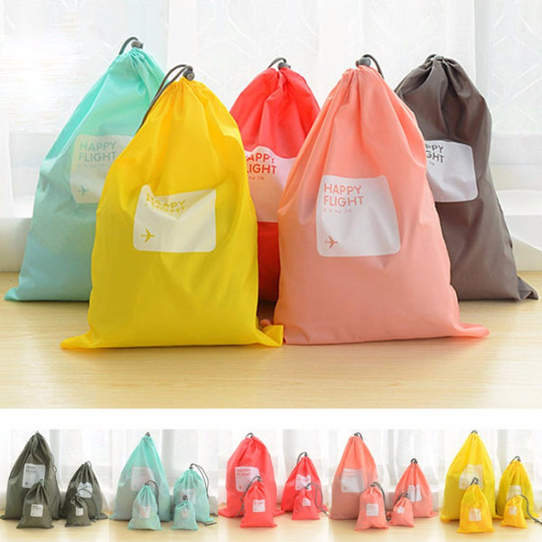 4X Assorted sizes Waterproof Highly Durable Laundry Bag
