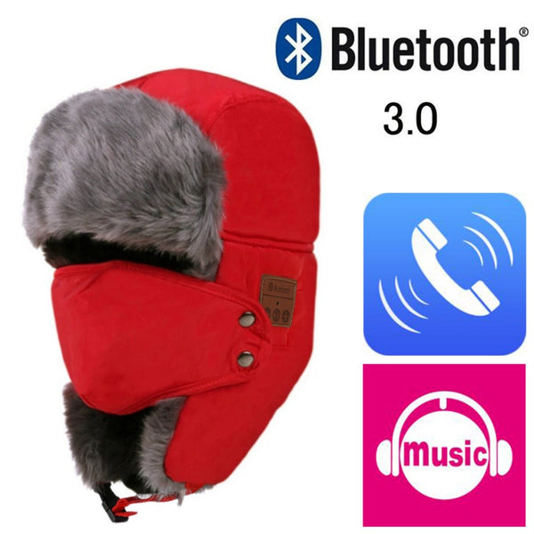 """Smart"" Bluetooth Bomber Hat"