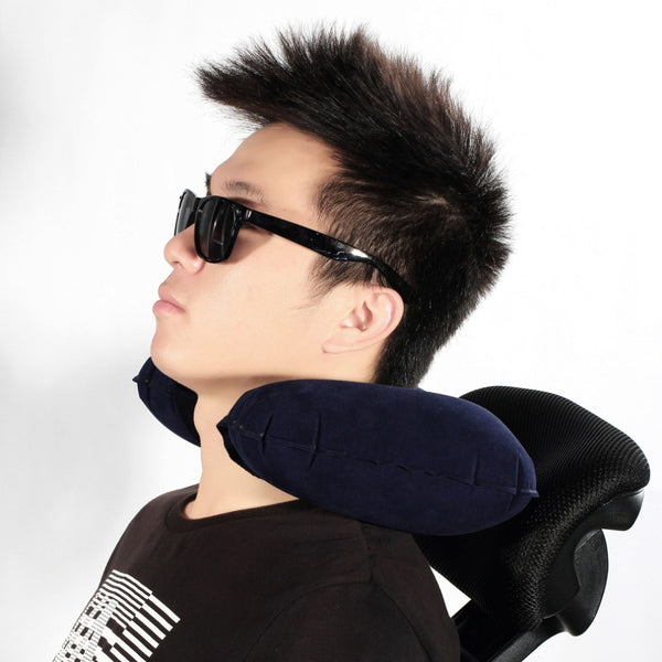 Air Inflatable U shaped Pillow/Neck Rest