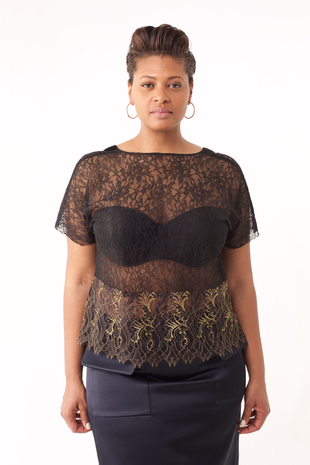 Rachel Chantilly Lace Top
