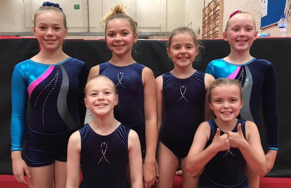 Girls NDP Competition Leotard