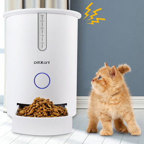 pet robot automatic detail feeder en autopetfeeder small animal robotshop