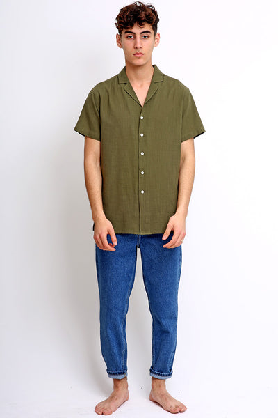 Military Green Summer Shirt