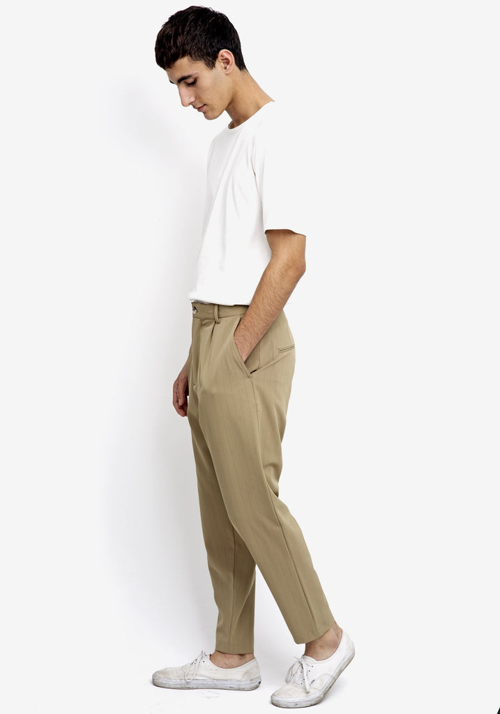 Bey Striped Trousers