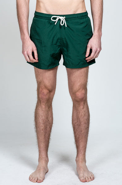 Dark Grass Swim Short