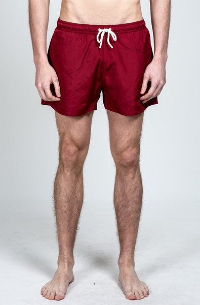 Oxblood Swim Short
