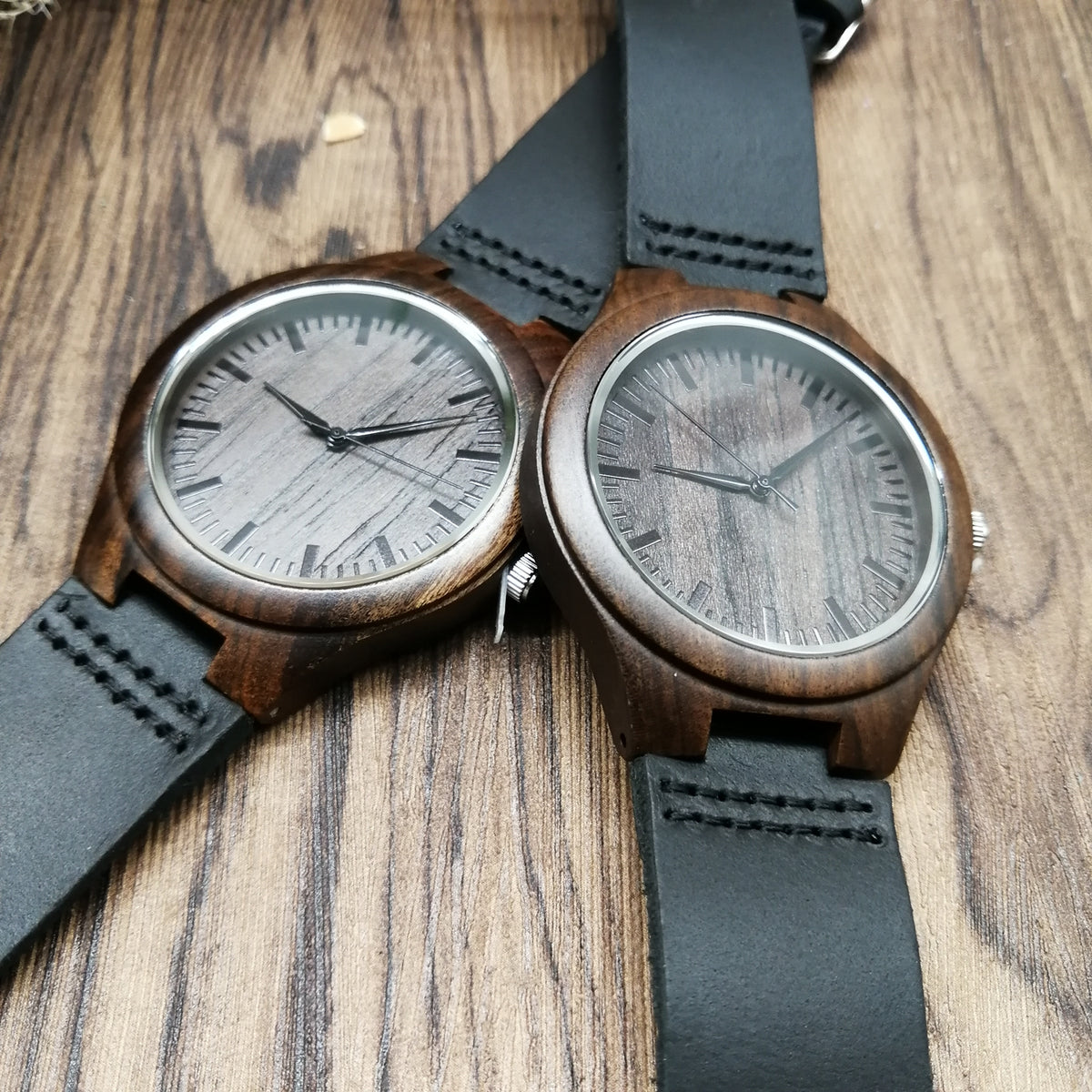 Son Dad Never Lose Wooden Watch