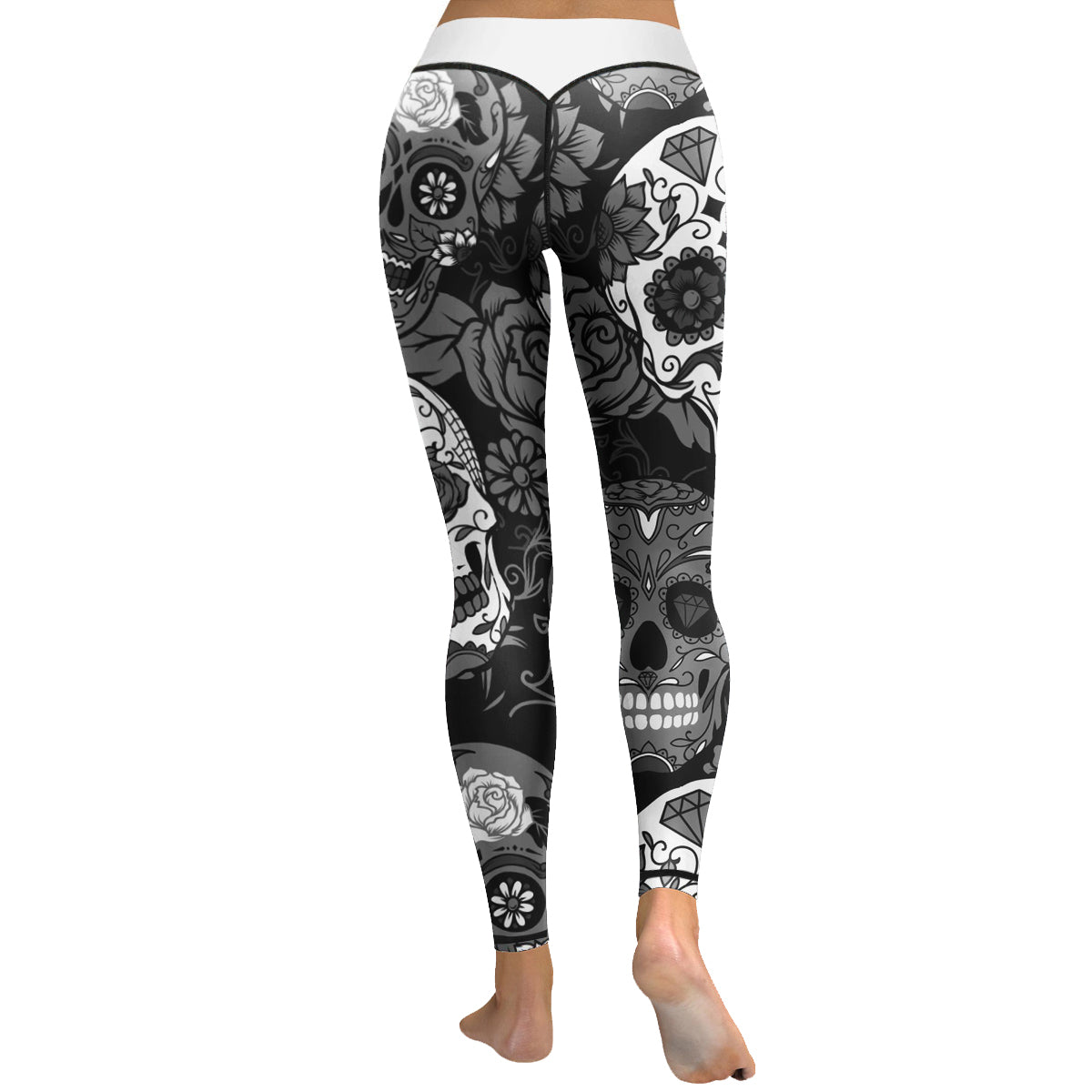 Skull Leggings & Yoga Pants High Quality Style 6