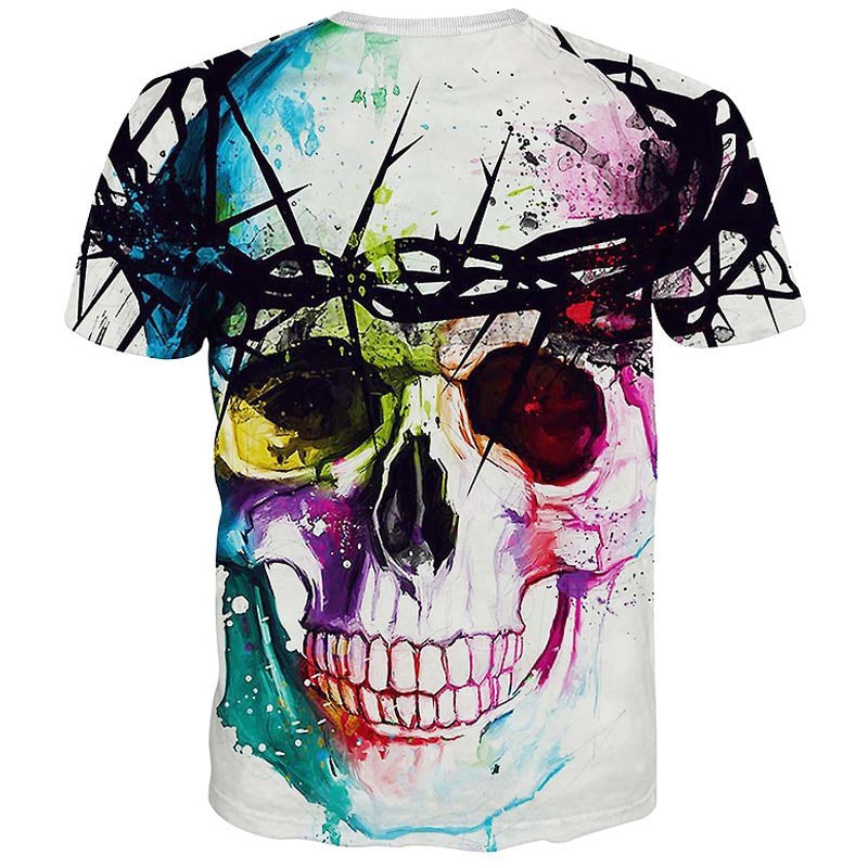 Skulls & Animation 3d T-shirts