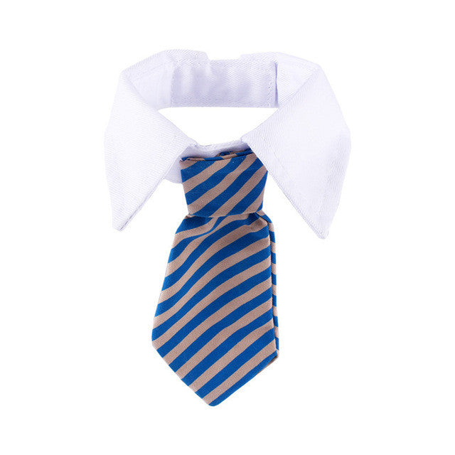 Striped Adjustable Neck Tie for Cat/Dog
