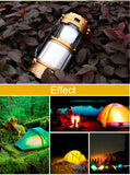 Stretching LED Lantern With Solar USB Phone Charger