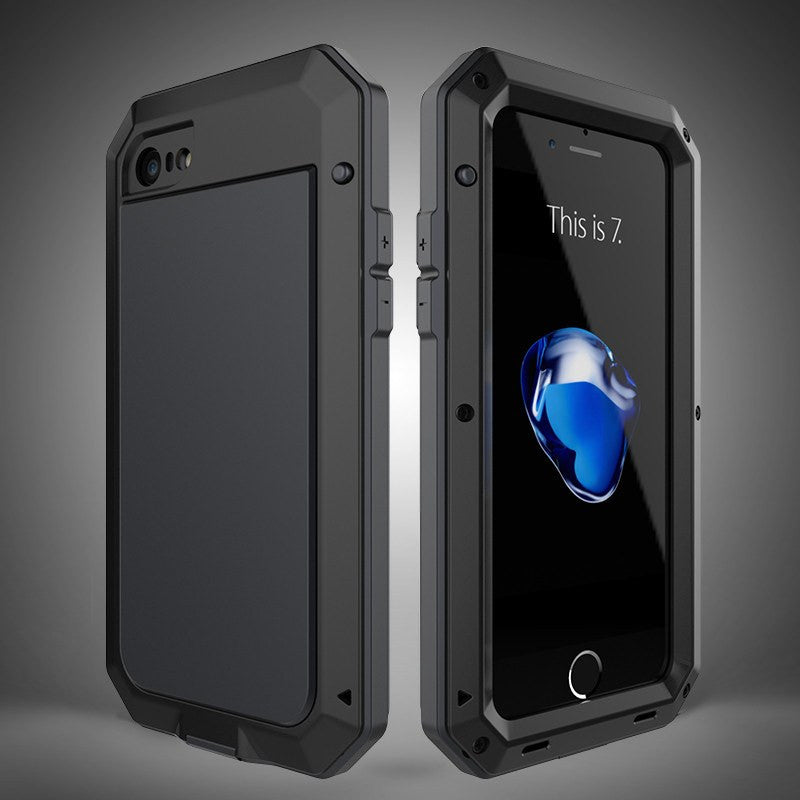 Dirt Shock Waterproof Metal Aluminum Cell Phone Cases