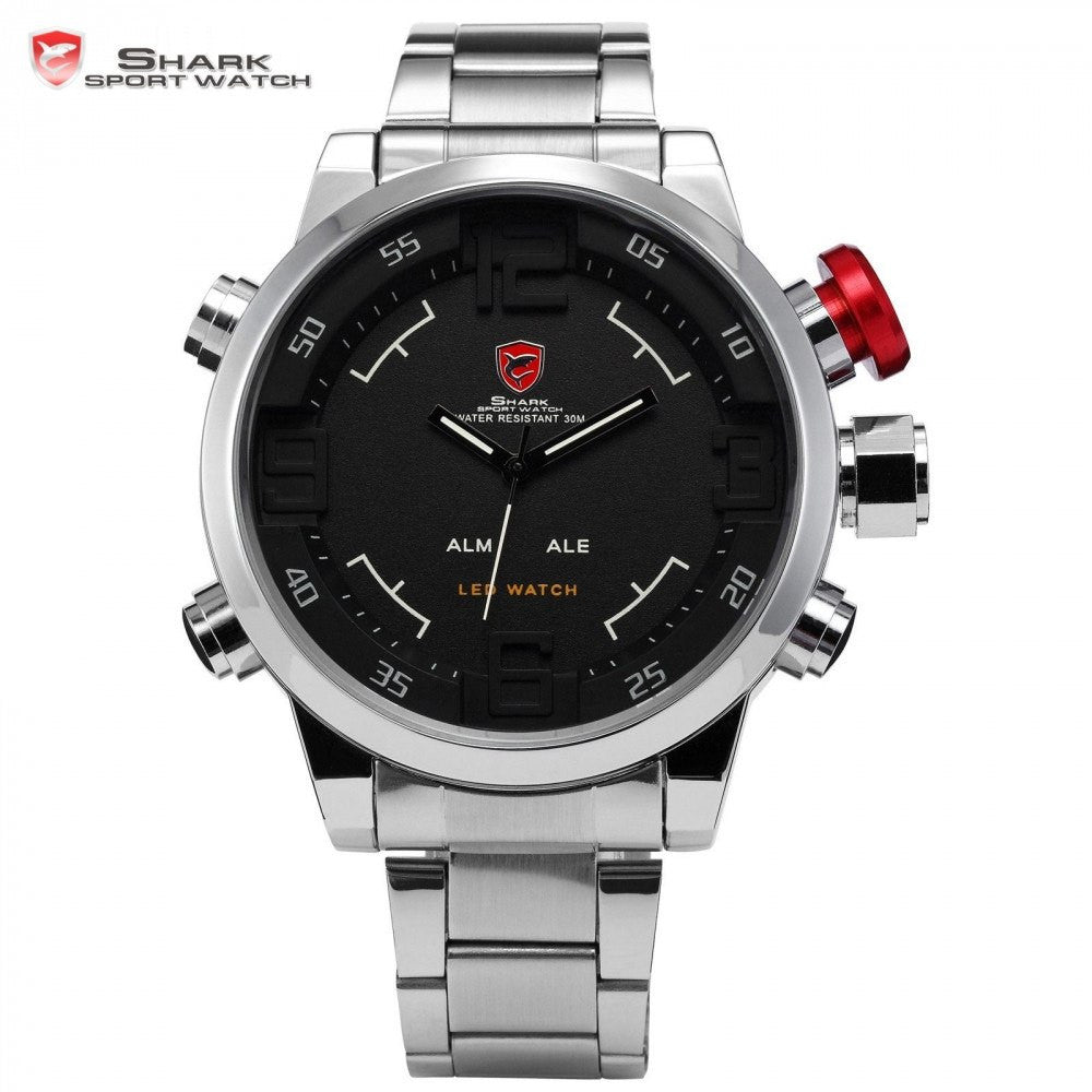 Gulper SHARK Stainless Military Sport Watch