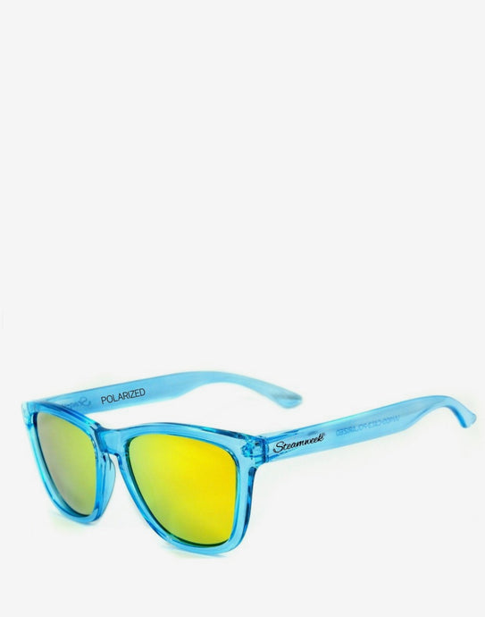 Brigth Blue - Gold Polarized