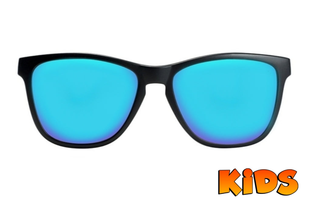 KIDS  Black - Blue Polarized