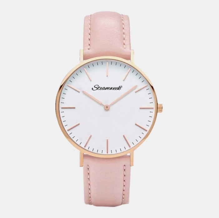 White Gold - Pink 38mm