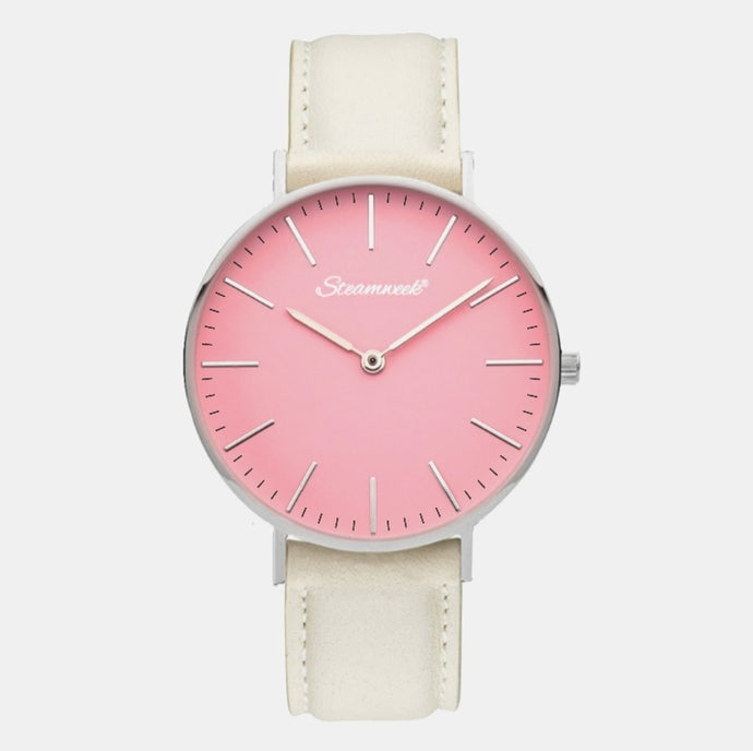 Silver Pink SW 38mm