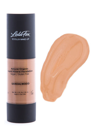 Moisturising Foundation - Sandalwood