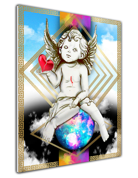 HEART OF AN ANGEL CANVAS PRINT