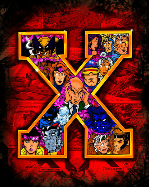 X-MEN - CANVAS