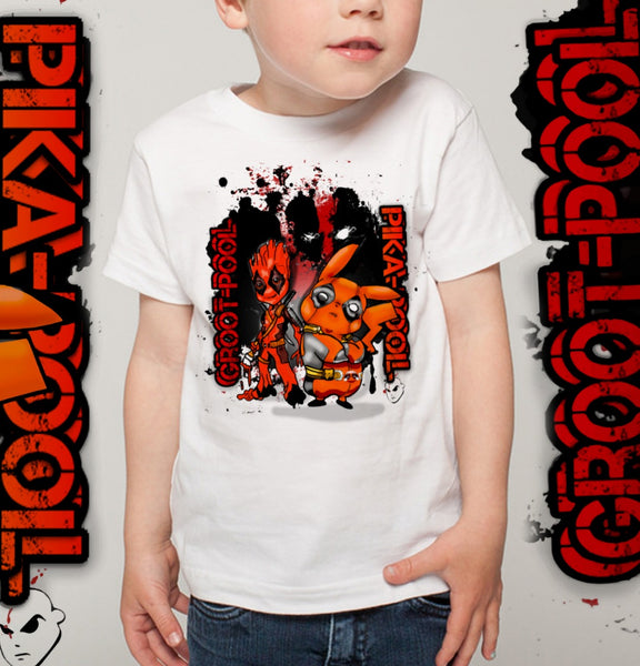 PIKAPOOL AND GROOTPOOL BABY AND KIDS T-SHIRT