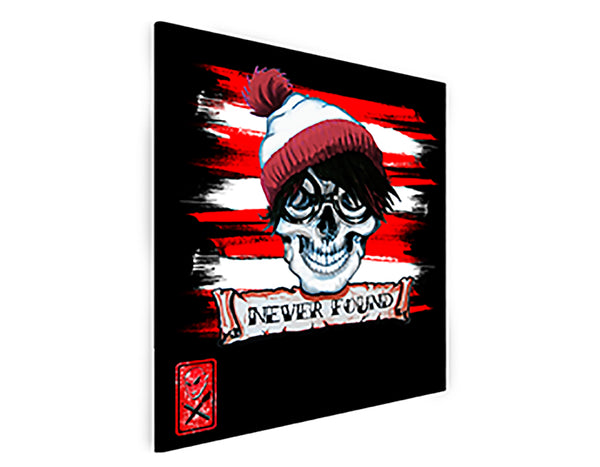 NEVER FOUND/WALLY CANVAS PRINT