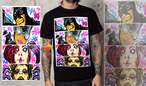 GOTHAM CITY LEGENDS T-SHIRT