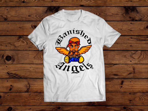 T SHIRT - BANISHED TUPAC ANGEL