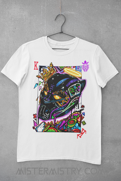 LONG LIVE THE KING / BLACK PANTHER T-SHIRT