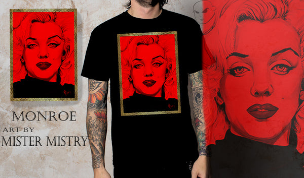 MONROE-BLOOD RED ART EDITION