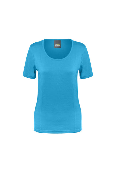 Amazing Merino Short Sleeve Scoop