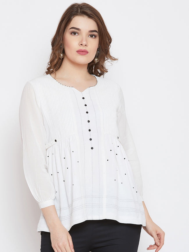LYLA WOMAN EMBROIDERED TUNIC